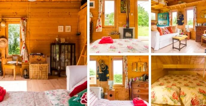 a cabin in galway