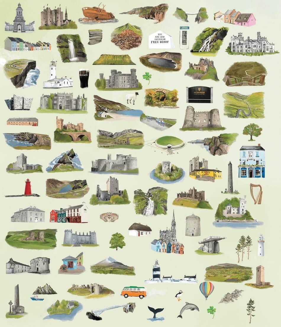 the landmarks