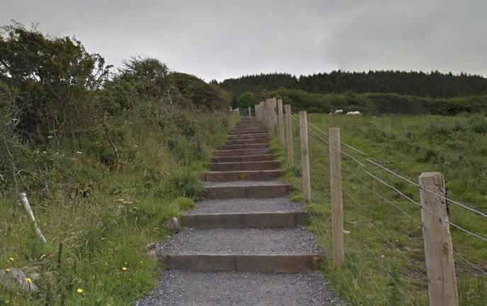 Knocknarea steps
