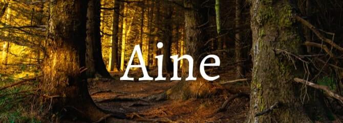 Irish names for girls