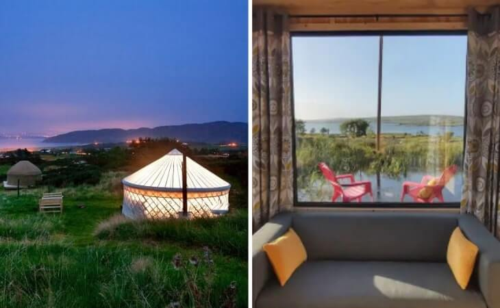 glamping in donegal