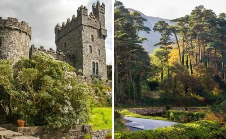 Photos of the Glenveagh Castle and area