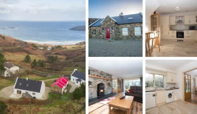 Ocean Blue View cottage donegal