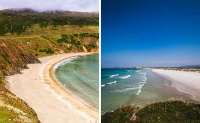 best beaches in donegal