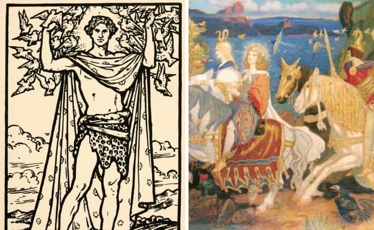 names of celtic gods