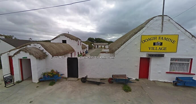 tours of doagh famine village