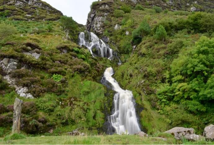 ardara waterfall donegal