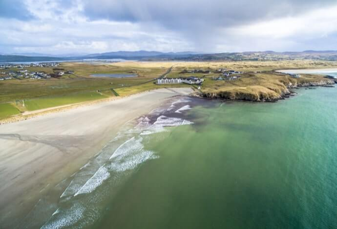 downings beach donegal