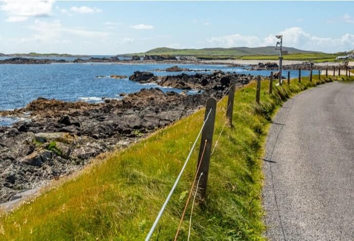 exploring the island by bike