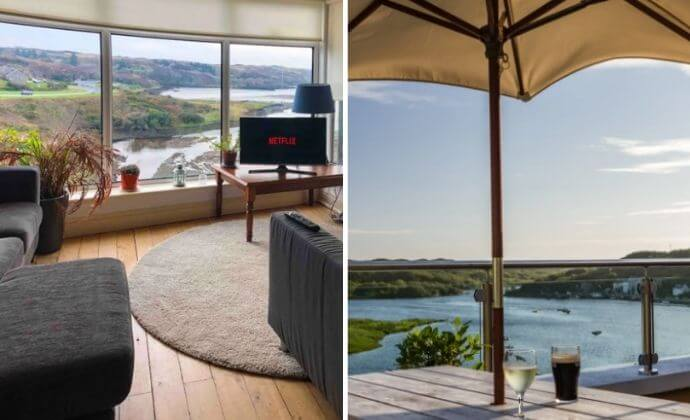 one of our Airbnbs in Clifden