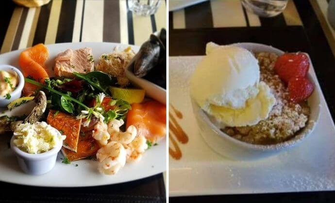 places to eat near Aasleagh Falls