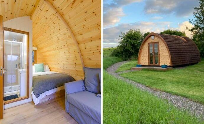 one of the most unique places to go glamping in kerry