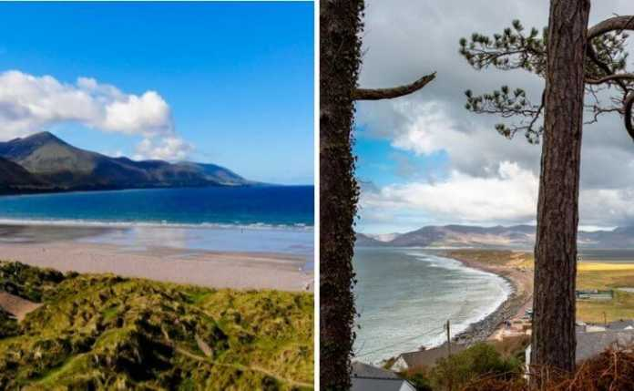 rossbeigh beach in kerry