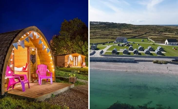glamping in galway