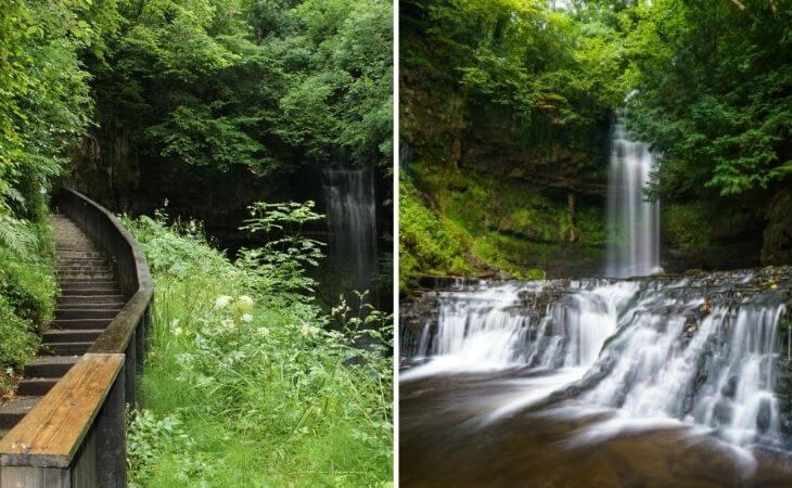 Glencar waterfall walk