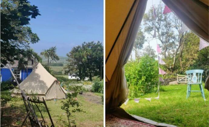 Granville House glamping