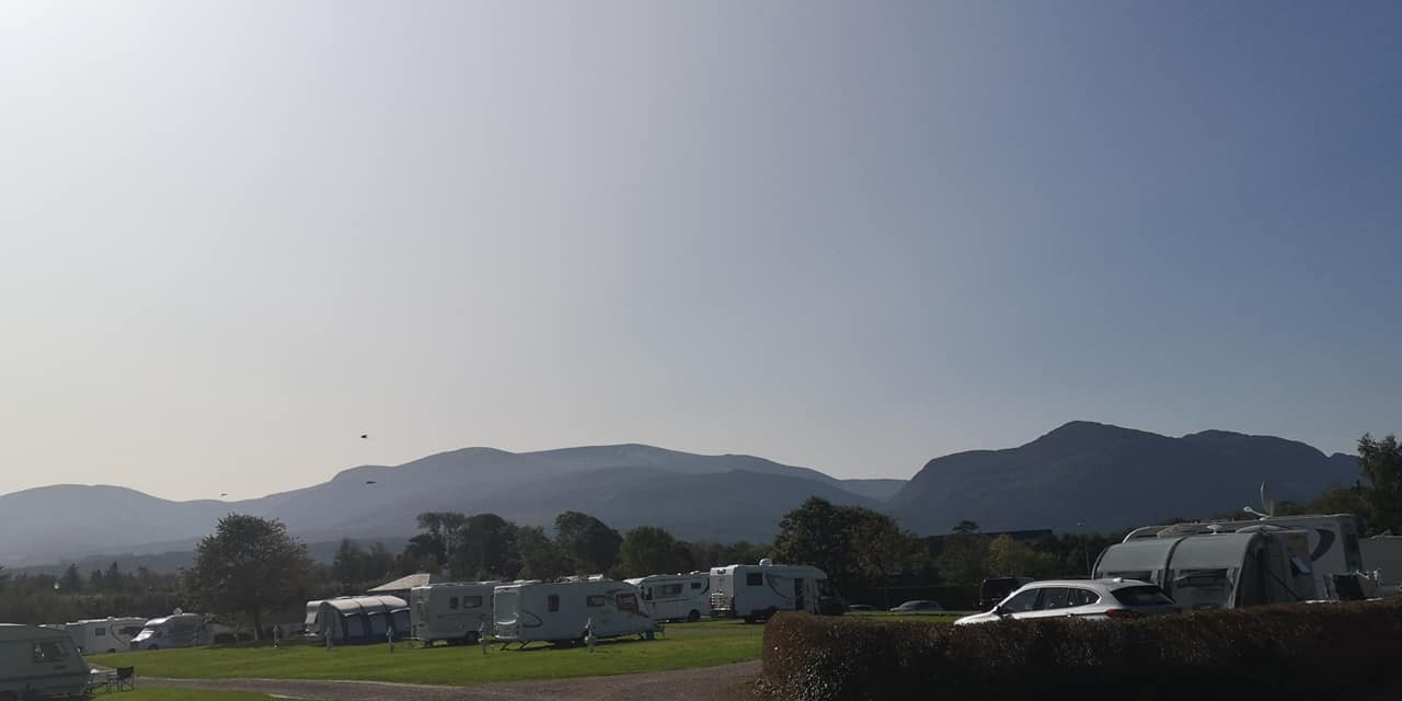Kerry camping