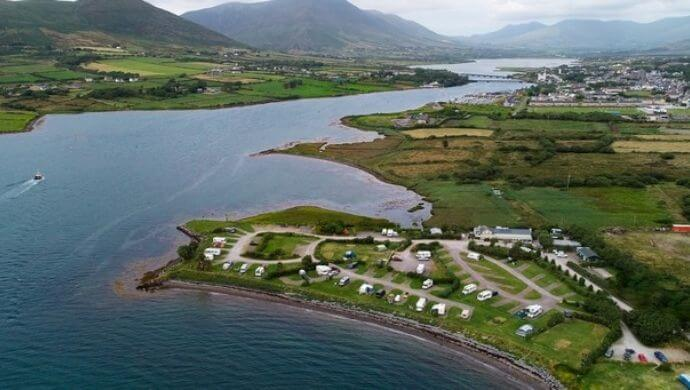 places to go camping in kerry