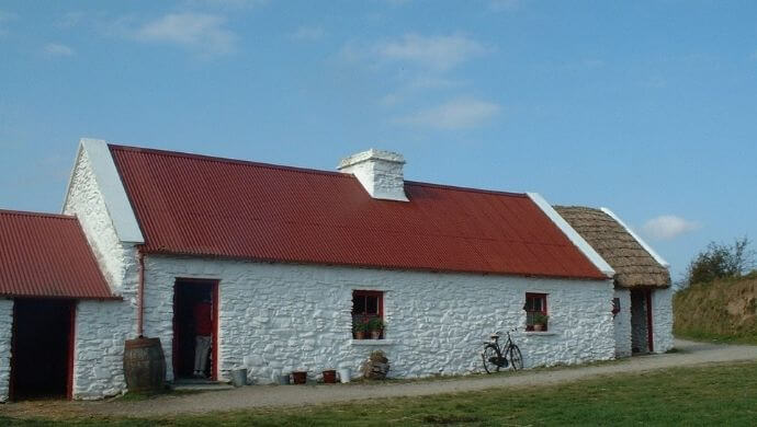 the traditional farm