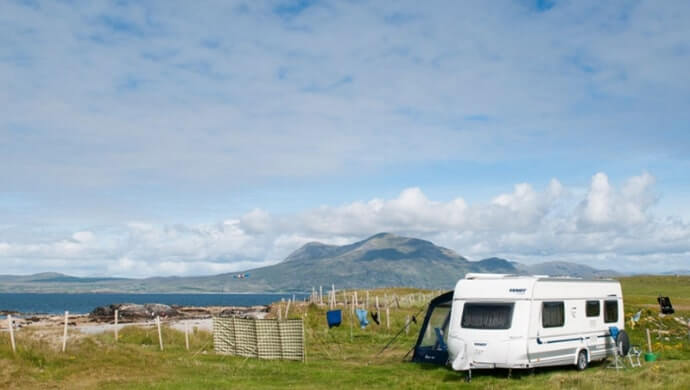 beachside campsites in galway
