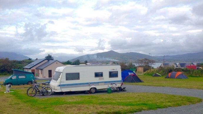 Valentia Island camping