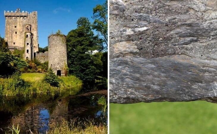 kissing the blarney castle