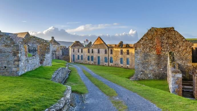Charles Fort tours