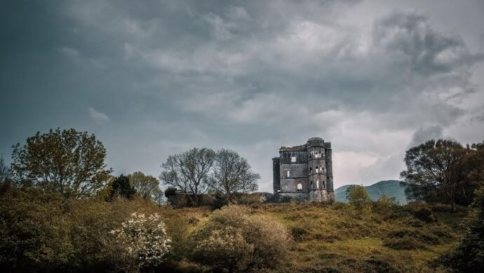 haunted kerry castles