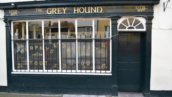the grey hound kinsale