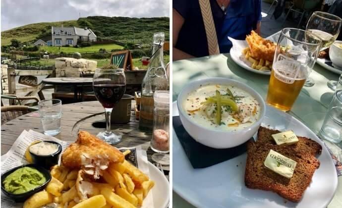 our favourite restaurants in doolin