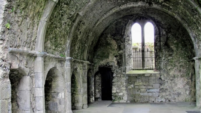 visiting the Franciscan Friary in Ennis