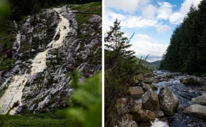 Glenmacnass Waterfall laragh