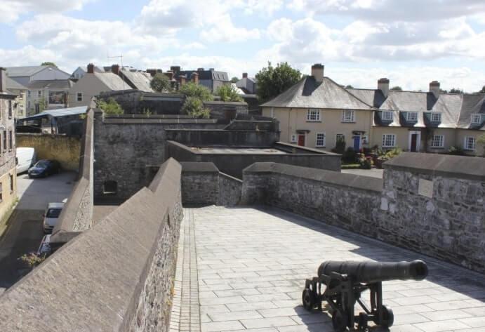 roof of Elizabeth Fort