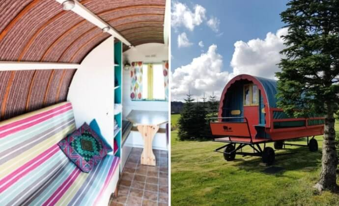 quirky wicklow glamping