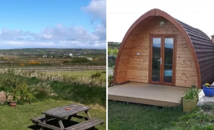 popular places for glamping clare