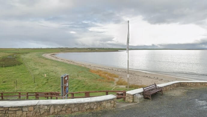 Aghleam (An Eachléim) Beach in Mayo