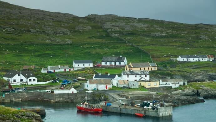 walks on Inishturk Island