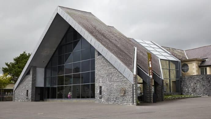 visiting Knock museum