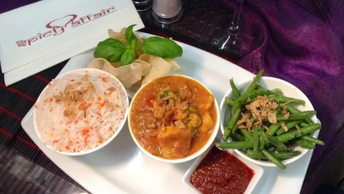 spicy Affair indian restaurant