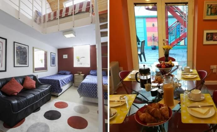 quirky accommodation in waterford city