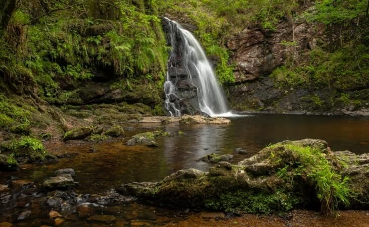 tourmakeady waterfall walk
