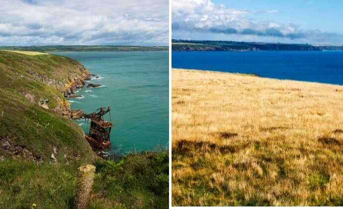 ardmore cliff walk