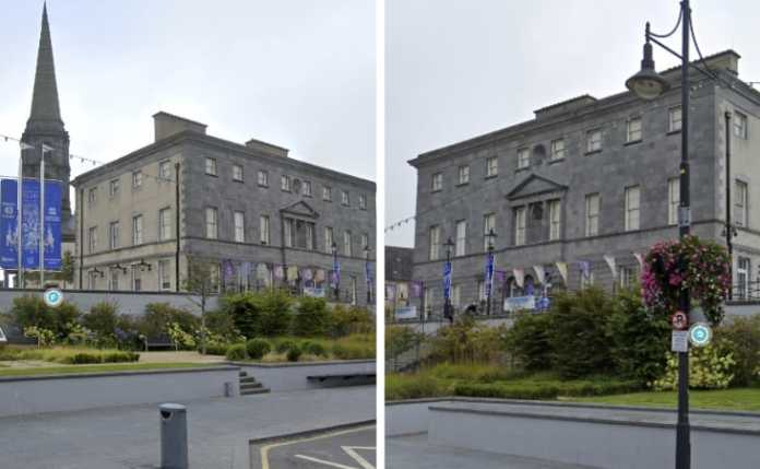 Bishop's Palace in waterford