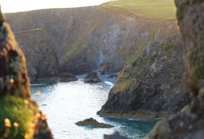 Bunmahon cliffs