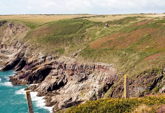 cliff walk in ardmore