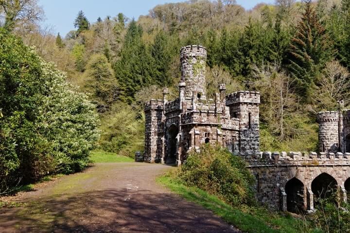 Ballysaggartmore Towers walk