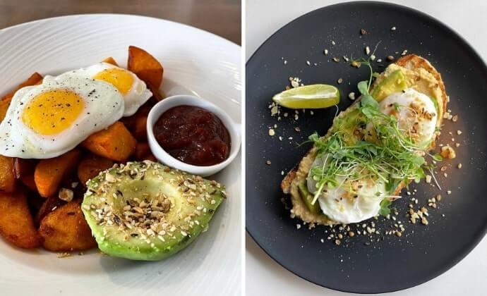 Belvedere Cafe breakfast