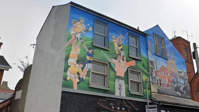 Gaelic Sport mural