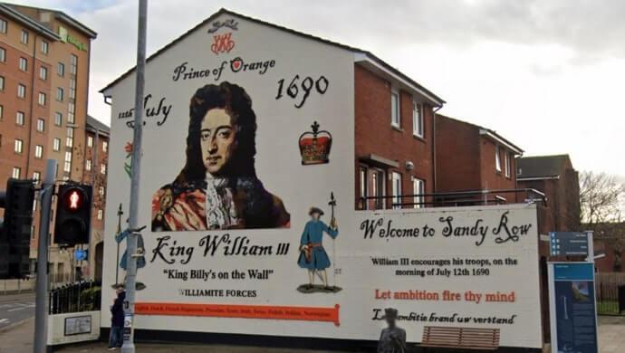 King William mural