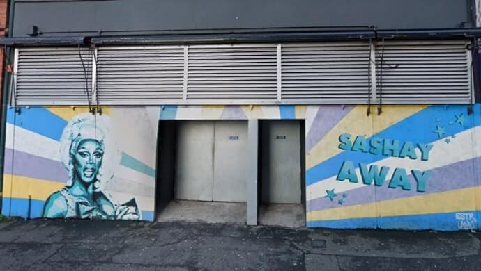 RuPaul Mural belfast